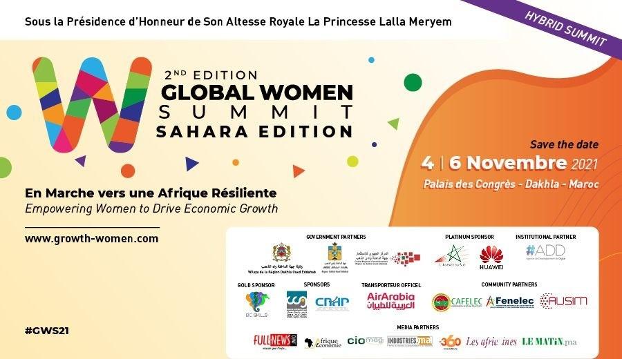 2ème édition du Global Woman Summit – Dakhla du 04 au 06 novembre 2021